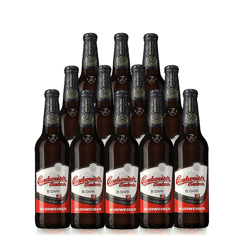 500ml Budvar Dark 12 Case by Budweiser Budvar