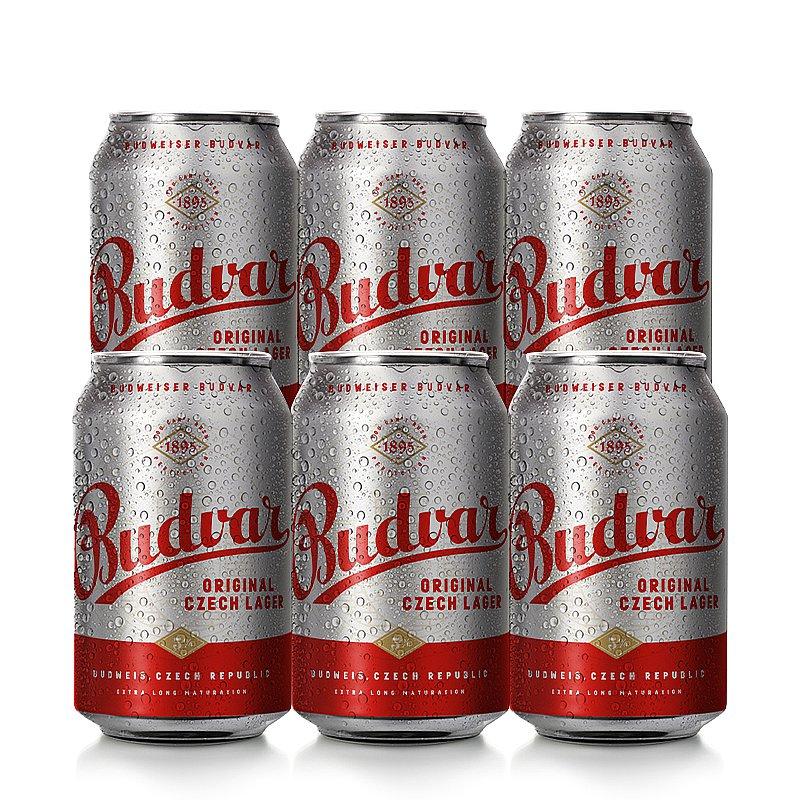 330ml Budvar Original 6 Case by Budweiser Budvar