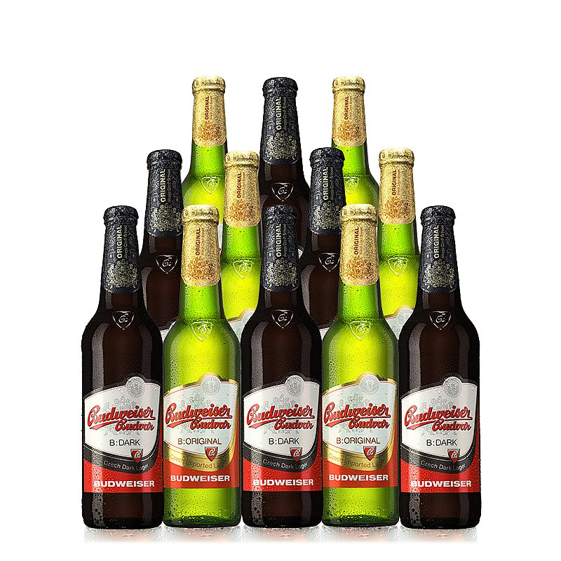 500ml Mixed 12 Case by Budweiser Budvar