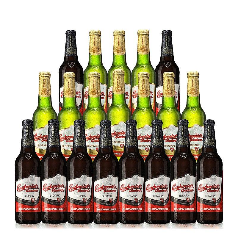 500ml Mixed 20 case by Budweiser Budvar