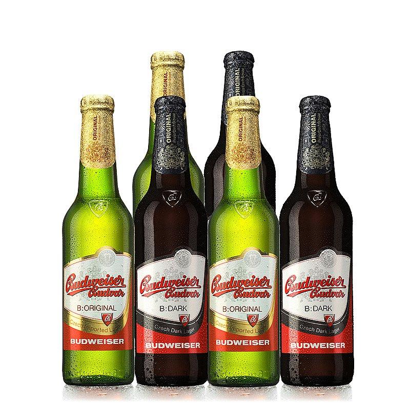 500ml Mixed 6 Case by Budweiser Budvar