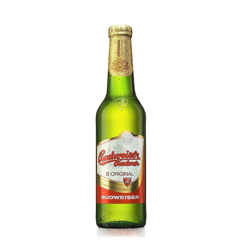 330ml Budvar Original by Budweiser Budvar