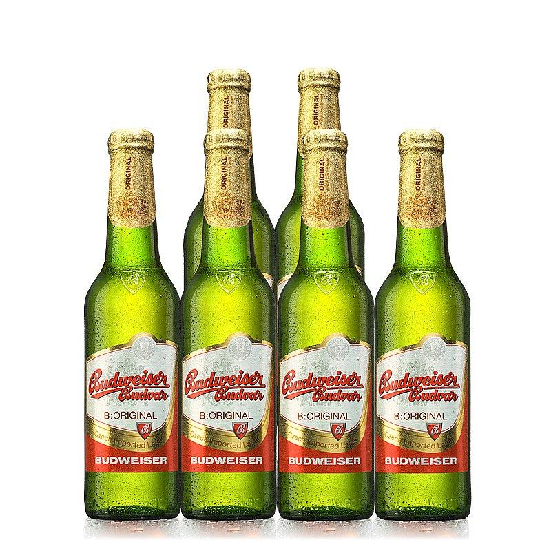 500ml Budvar Original 6 Case by Budweiser Budvar