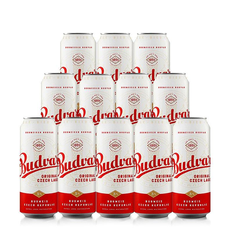 500ml Budvar Original 12 Case by Budweiser Budvar