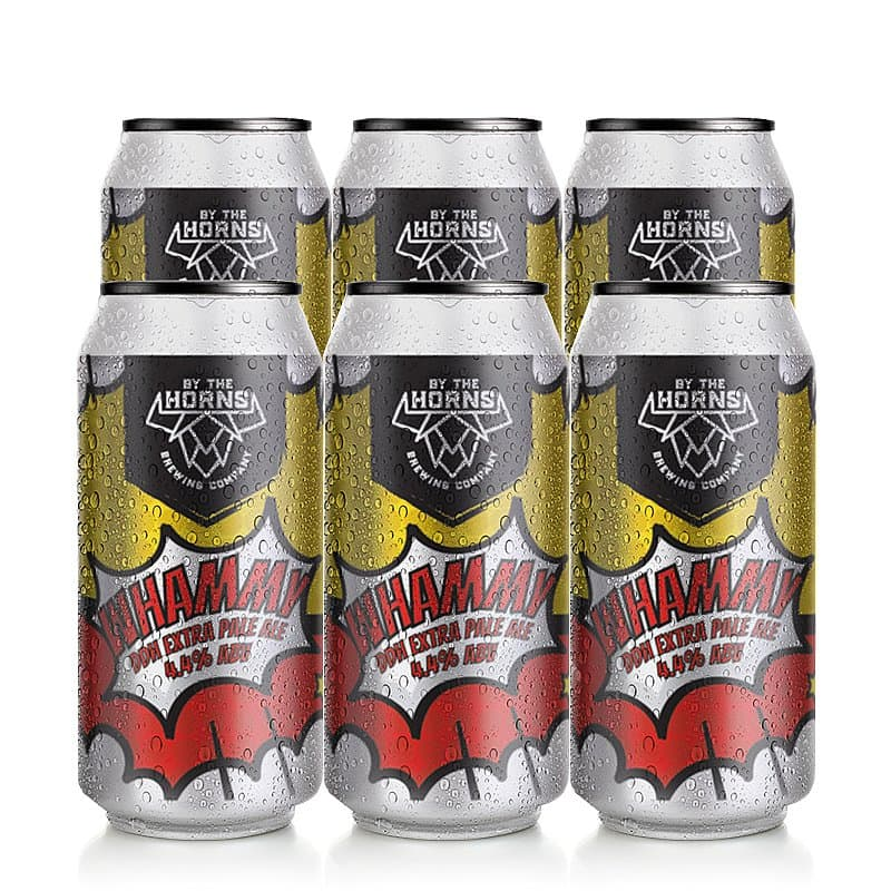 Whammy 6 Case by By the Horns Brewing