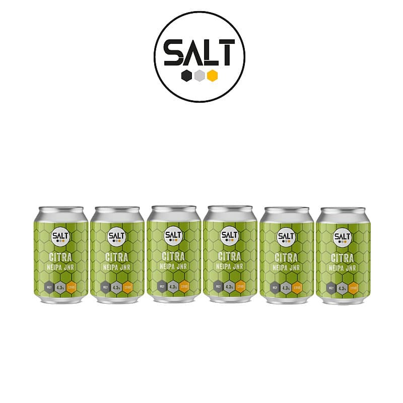 Citra NEIPA JNR 6 Case by Salt Beer Factory