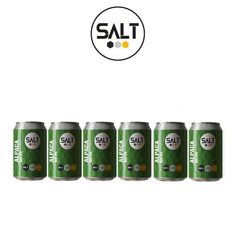 Alpaca DDH IPA 6 Case by Salt Beer Factory