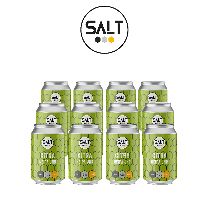 Citra NEIPA JNR 12 Case by Salt Beer Factory