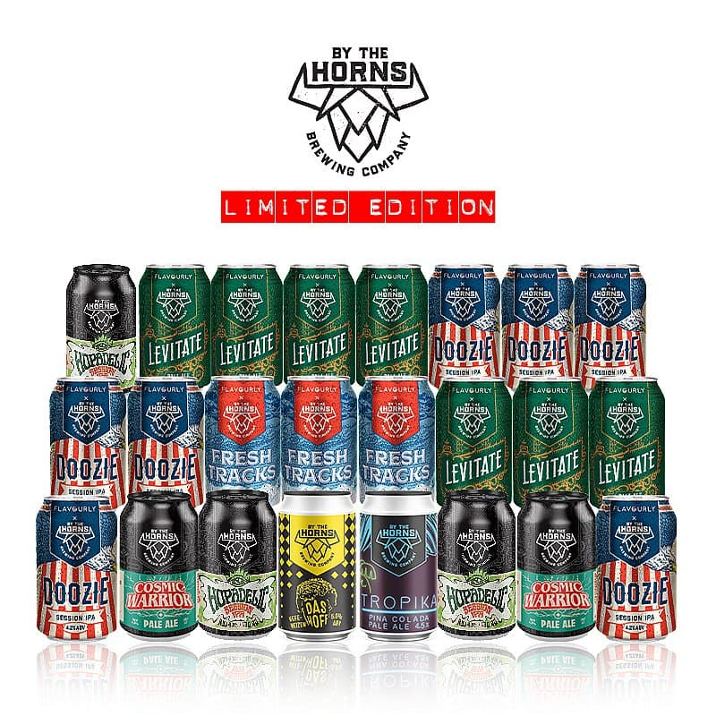 Limited Edition Mixed Case (24 beers) by By the Horns Brewing