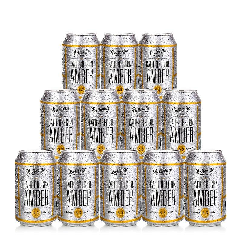 Calif-Oregon Amber 12 Case by Belleville Brewing Co.