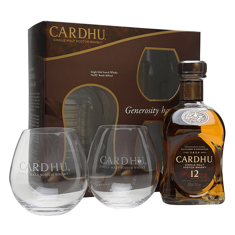 Cardhu 12 Y.O. Malt 2 Glass Pack
