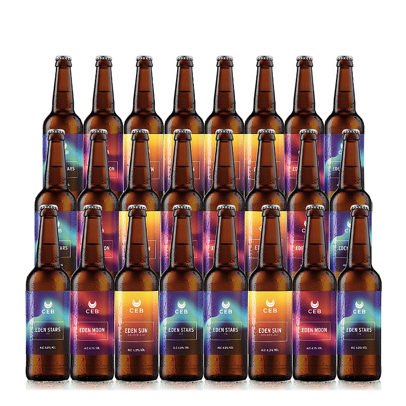 Mixed 24 Case by Castle Eden Brewery