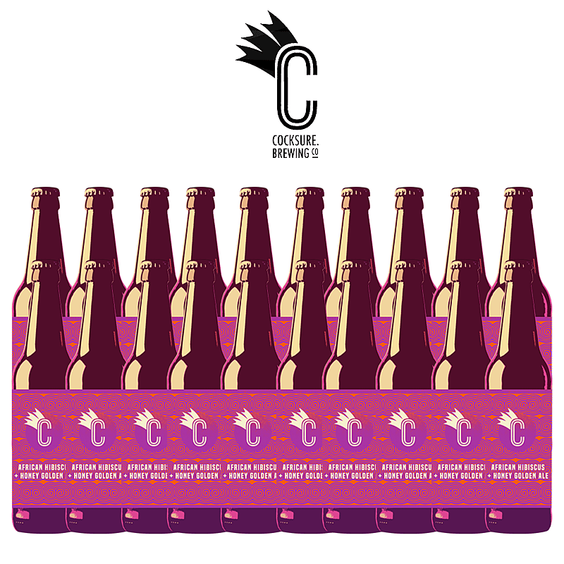 Hibiscus and Honey Golden Ale 20 Case