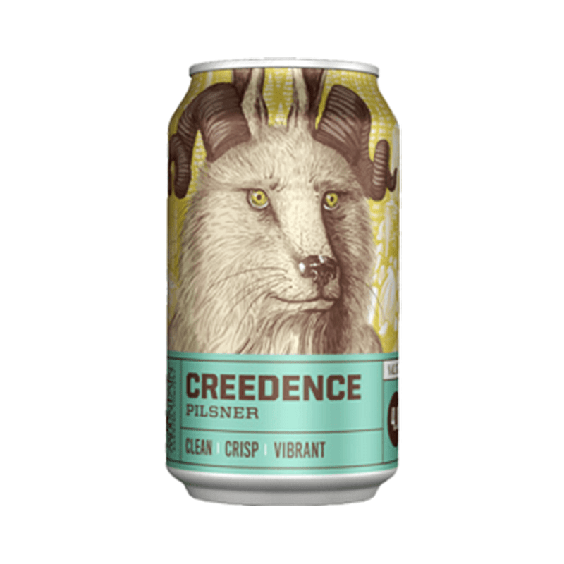 Creedence Pilsner Can by Crazy Mountain Brewing Co.