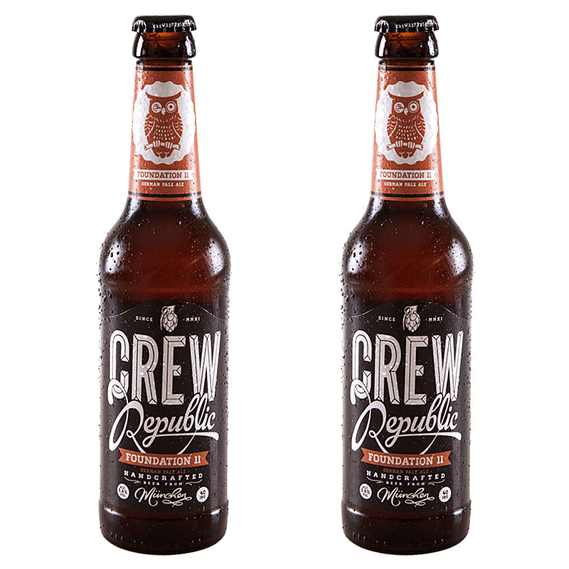Crew Republic Foundation 11 - Twin Pack by Crew Republic