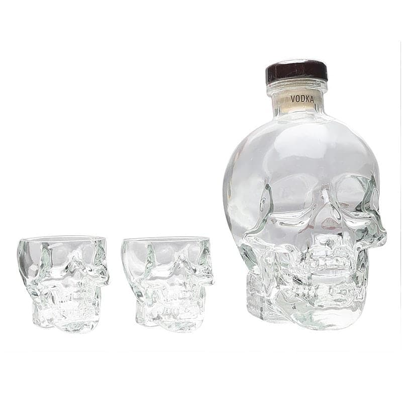 Crystal Head Vodka Gift Pack With 2 Shot Glasses