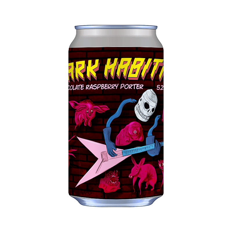 Dark Habitat by Mordue Brewery