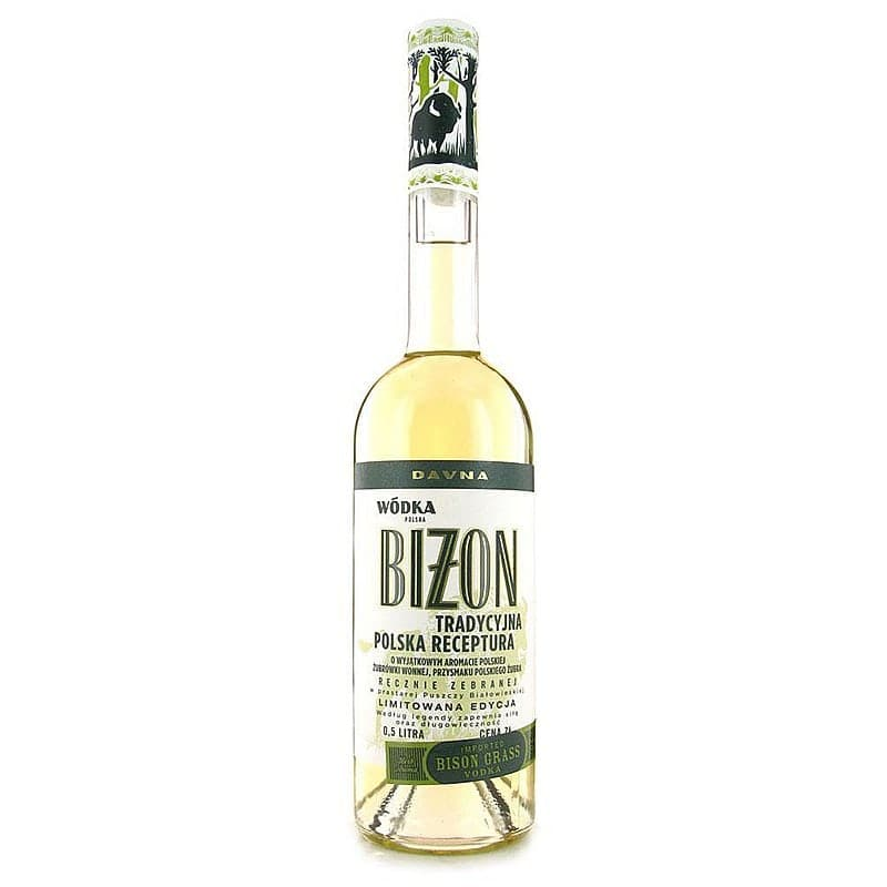 Davna Bizon (Bison grass) Vodka