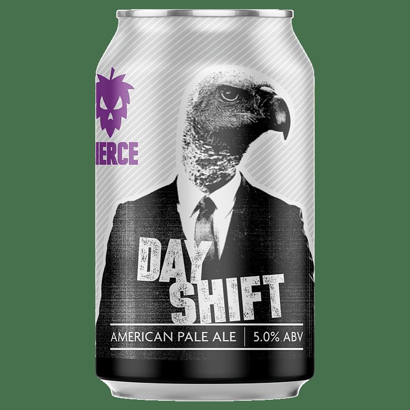 Fierce Beer Day Shift Can by Fierce Beer