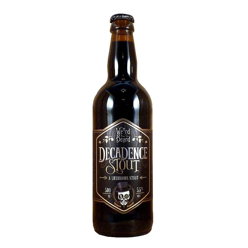 Decadence Stout by Weird Beard Brew Co.