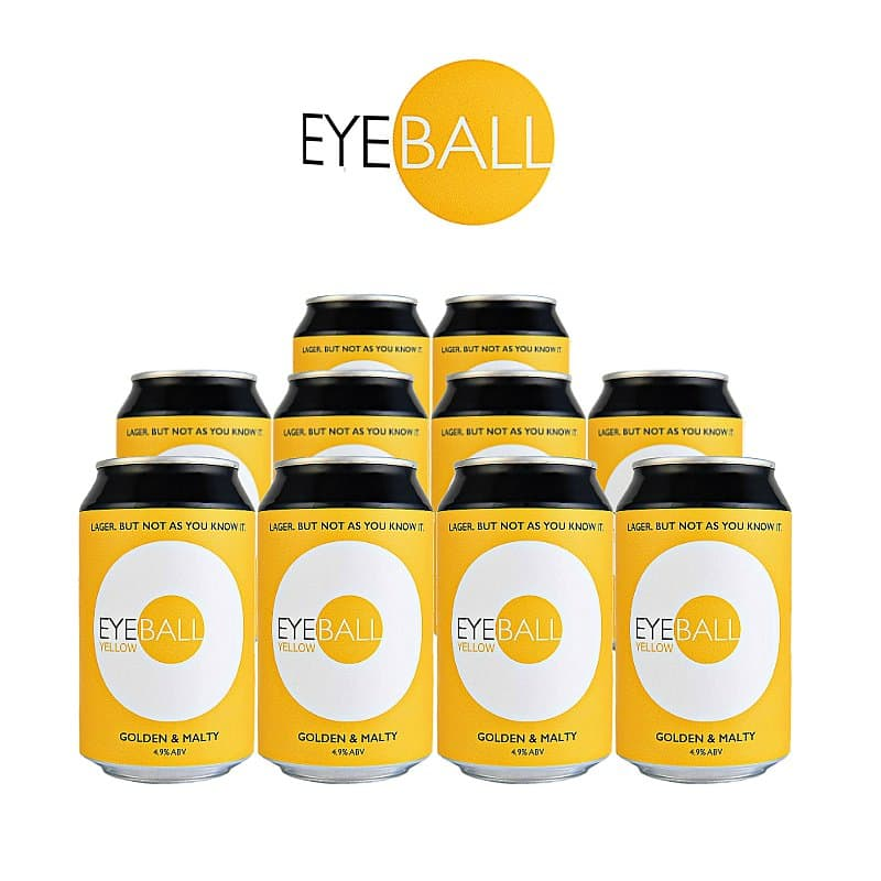 Yellow 10 Case by Eyeball Brewing