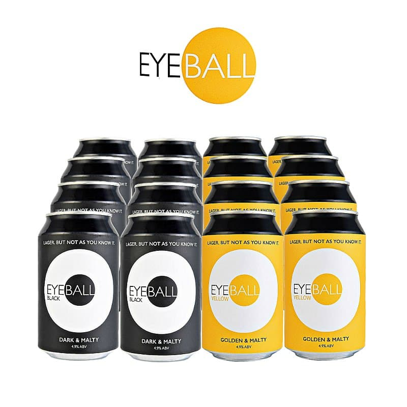 16 Mixed Case by Eyeball Brewing
