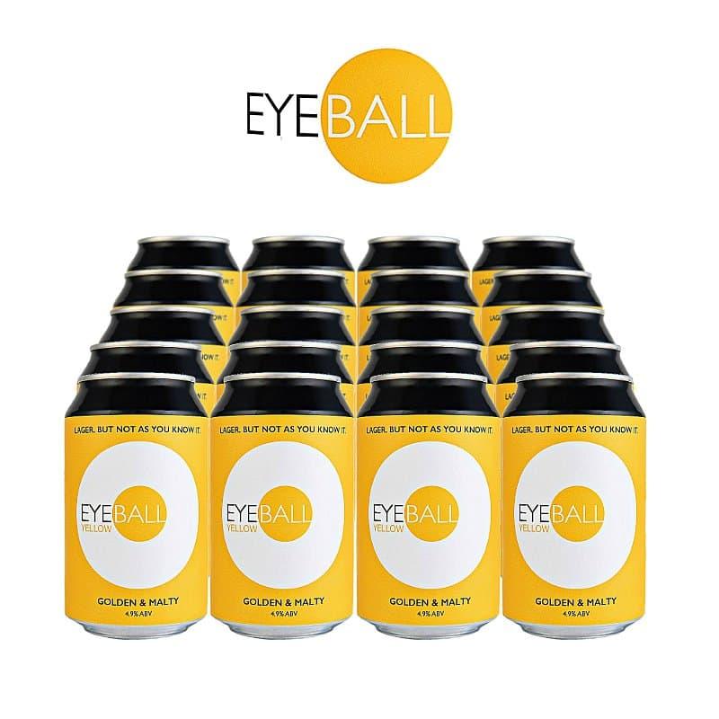 Yellow 20 Case by Eyeball Brewing