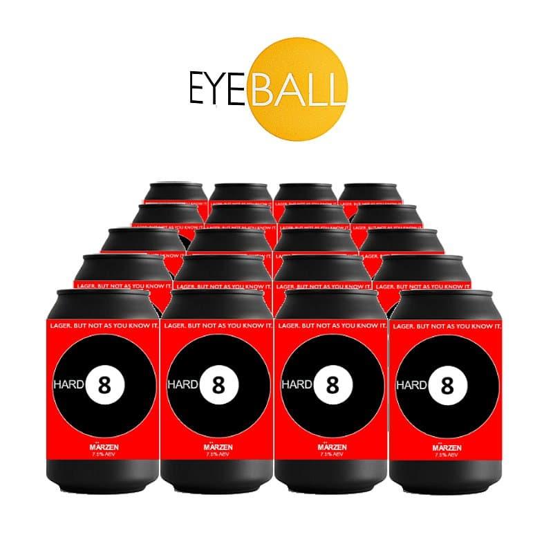 Hard 8 Marzen 20 Pack by Eyeball Brewing