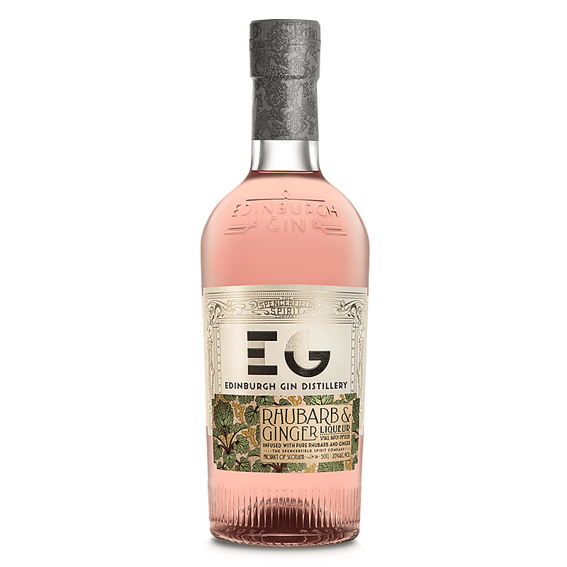 Edinburgh Gin Rhubarb and Ginger Liqueur by Edinburgh Gin
