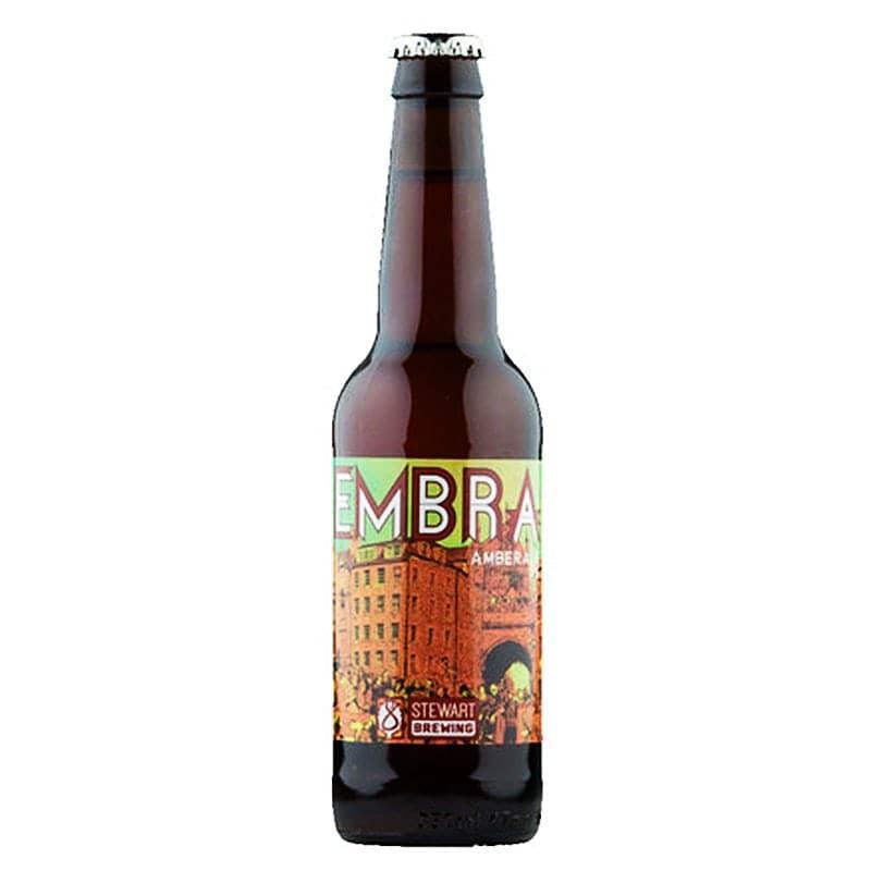 Embra Amber Ale by Stewart Brewing