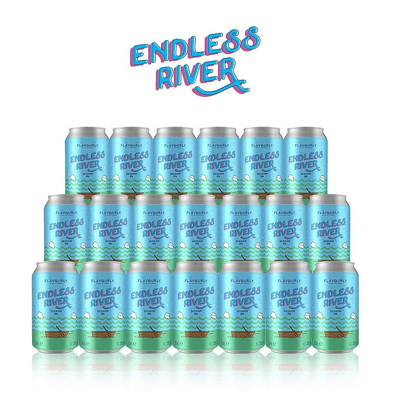 Endless River 20 Case by Flavourly