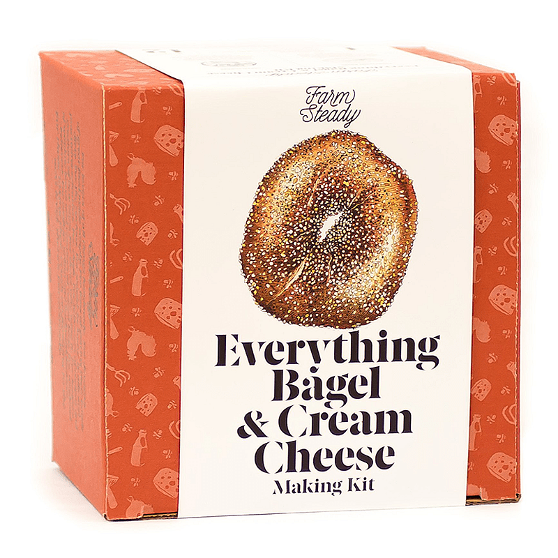 Brooklyn Brew Everything Bagel Cream Cheese Kit by Brooklyn Brew Shop