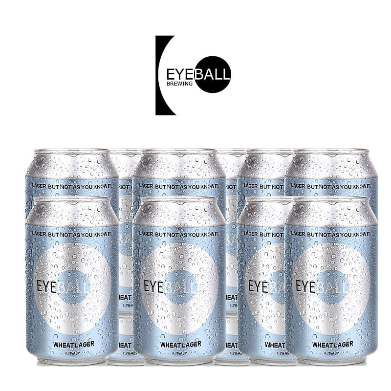 Wheat Beer 12 Case by Eyeball Brewing