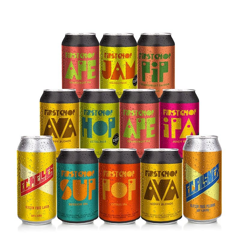 Light 12 Case by First Chop Brewing Arm