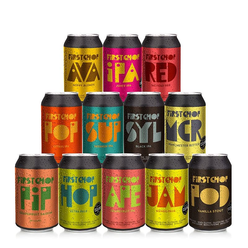 Mixed 12 Case by First Chop Brewing Arm