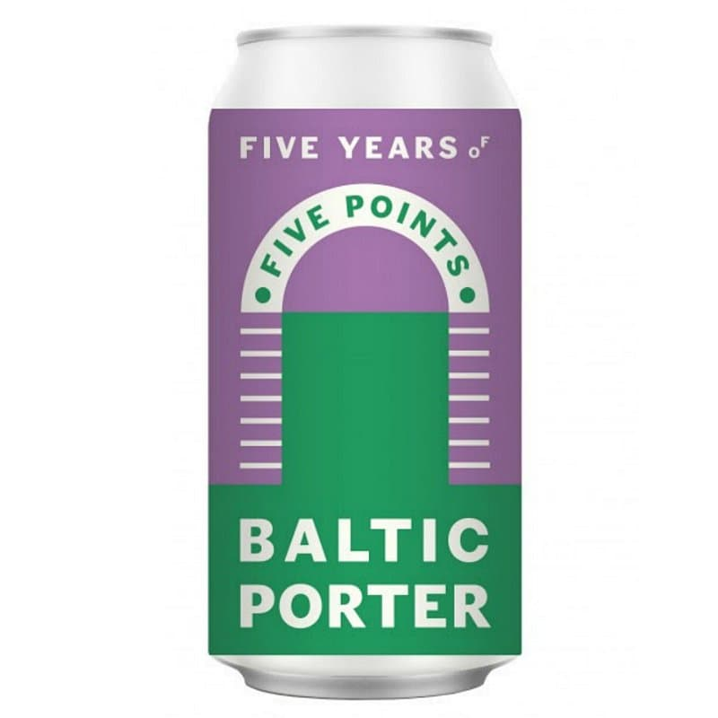Baltic Porter by Five Points Brewing Co