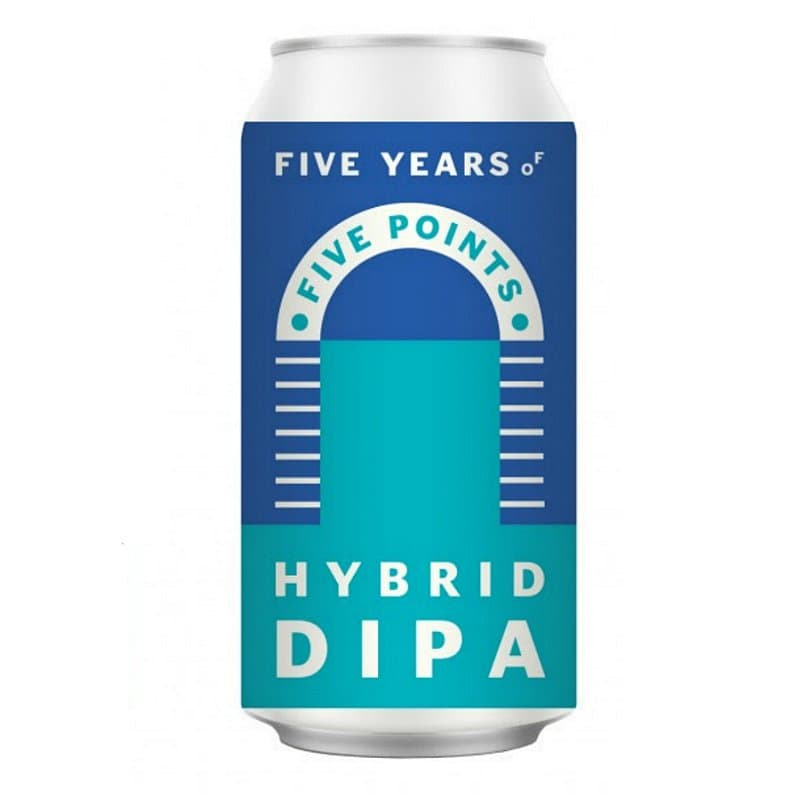 Hybrid DIPA by Five Points Brewing Co