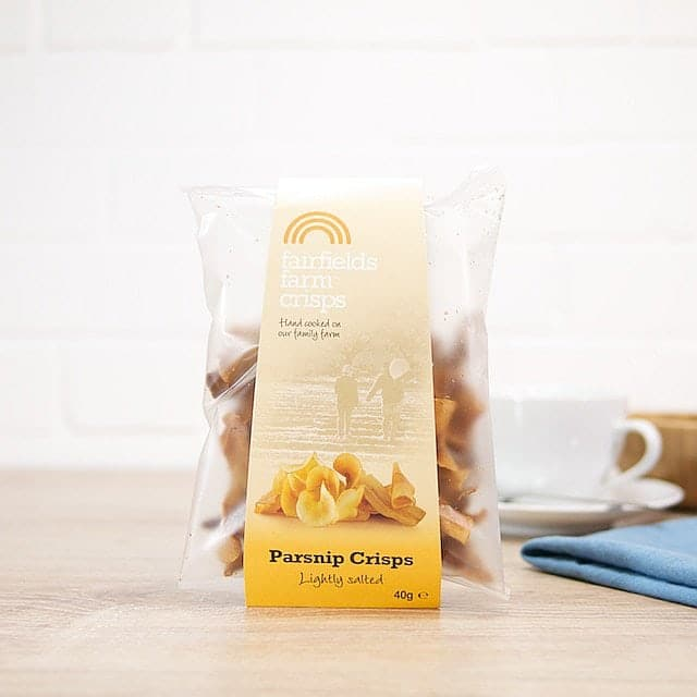 Lightly Salted Parsnip Crisps by Fairfield's Farm Crisps