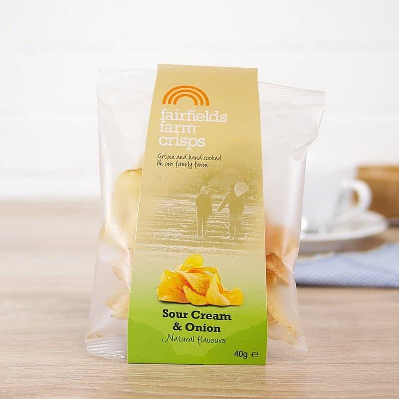 Sour Cream & Onion by Fairfield's Farm Crisps