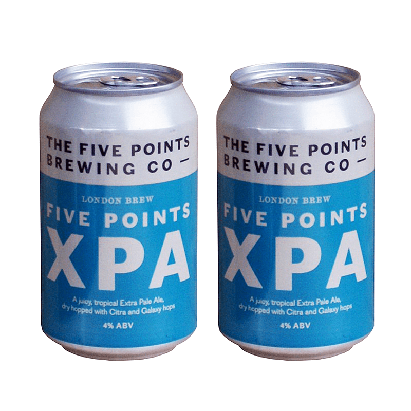 Five Points XPA - Twin Pack by Five Points Brewing Co