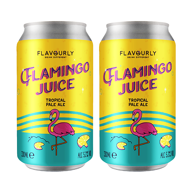 Flavourly Flamingo Juice - Twin Pack by Flavourly