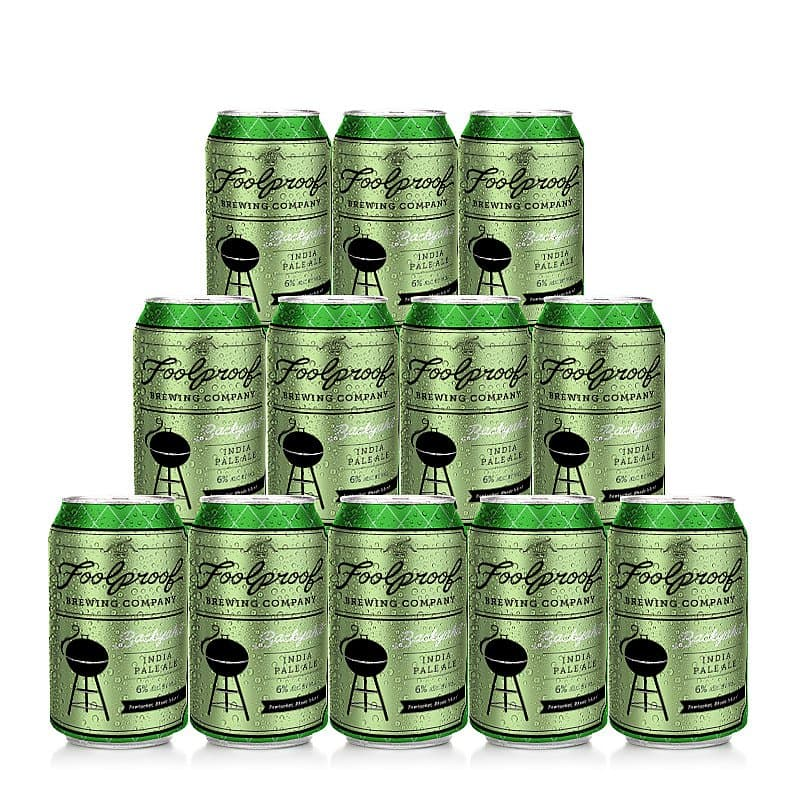Backyahd IPA 12 Case by Foolproof Brewing
