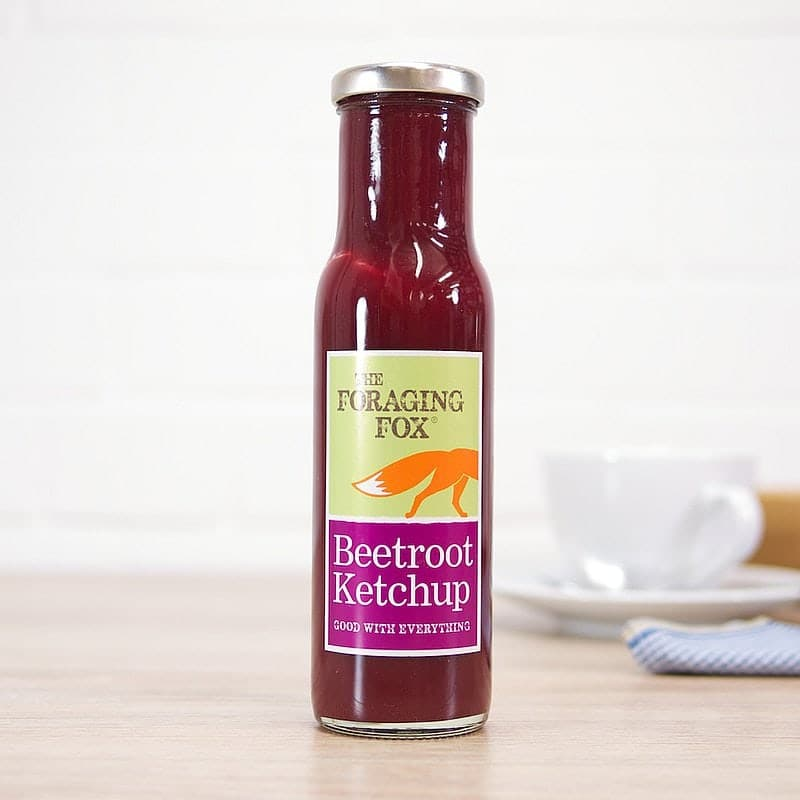 Beetroot Ketchup by Foraging Fox