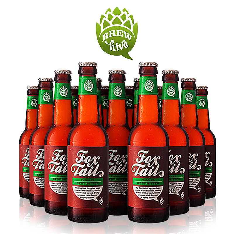 Fox Tail (24 Pack) by Brewhive X Hilden