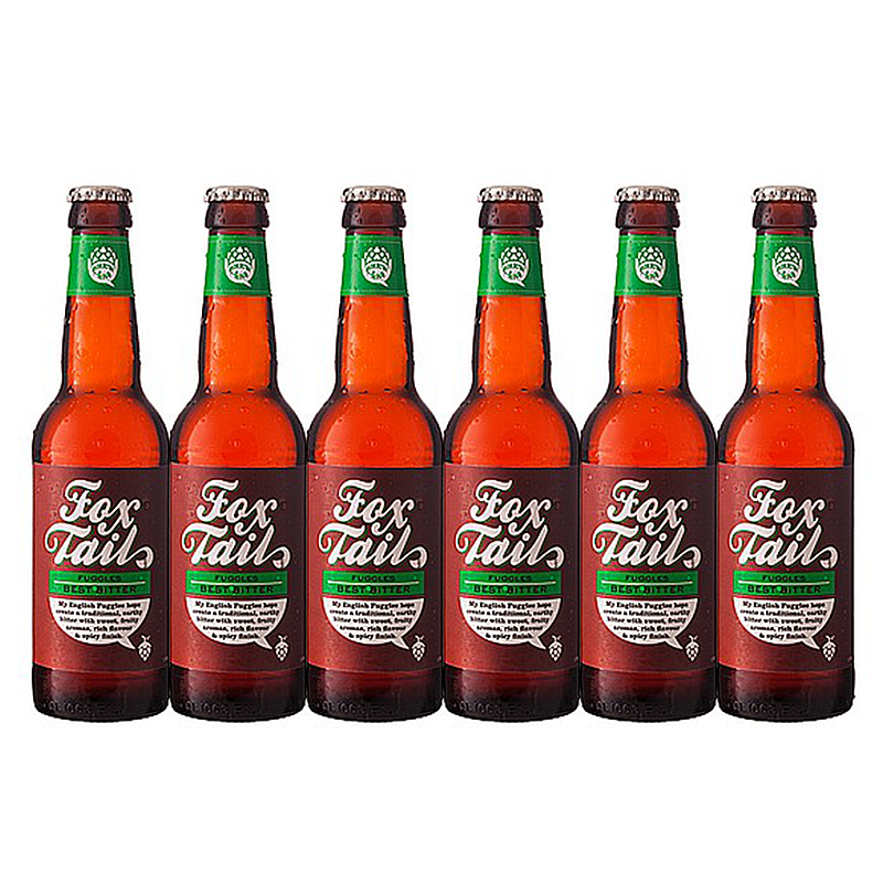 Brewhive Fox Tail - Six Pack by Brewhive X Hilden