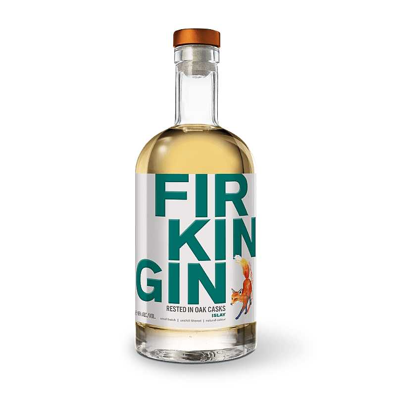 Islay Oak Aged Gin by Firkin Gin