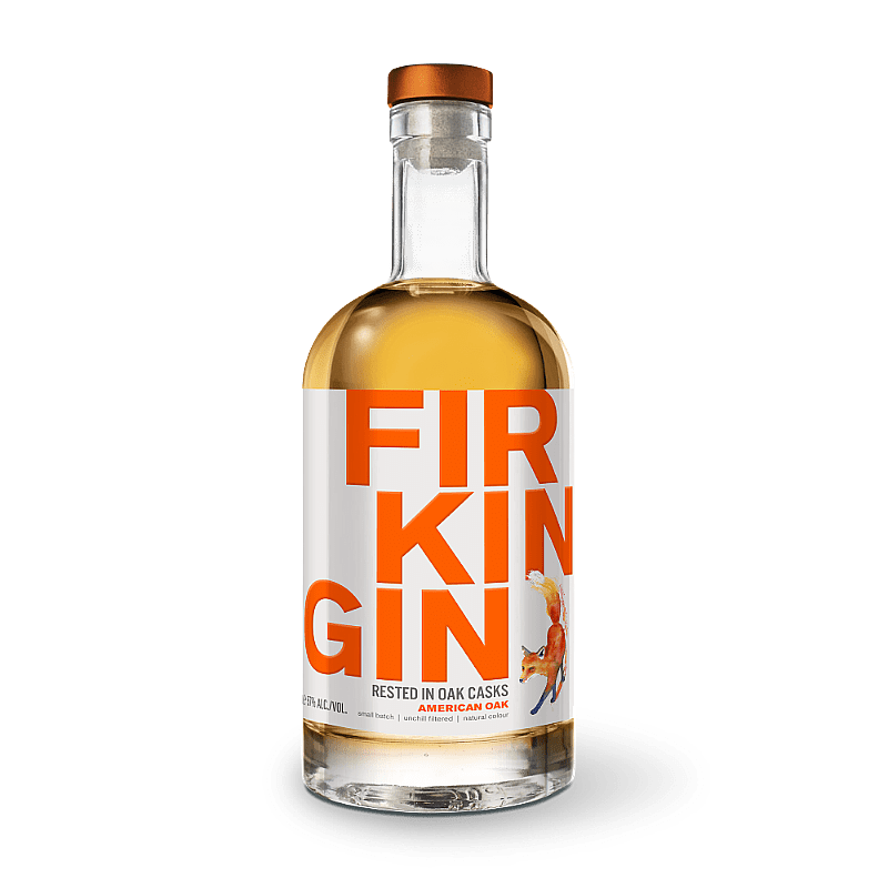 American Oak Cask Gin by Firkin Gin