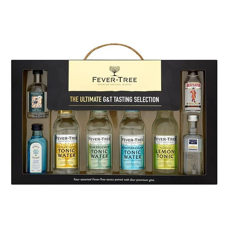 Fever Tree Ultimate Gin & Tonic Tasting Selection X4