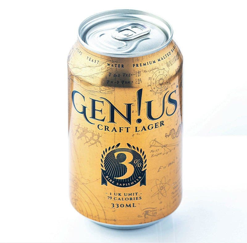 Genius Lager by Gen!us Brewing