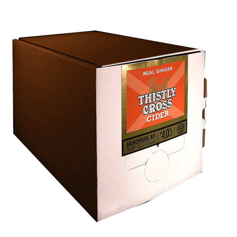 Bag in Box Ginger Cider by Thistly Cross